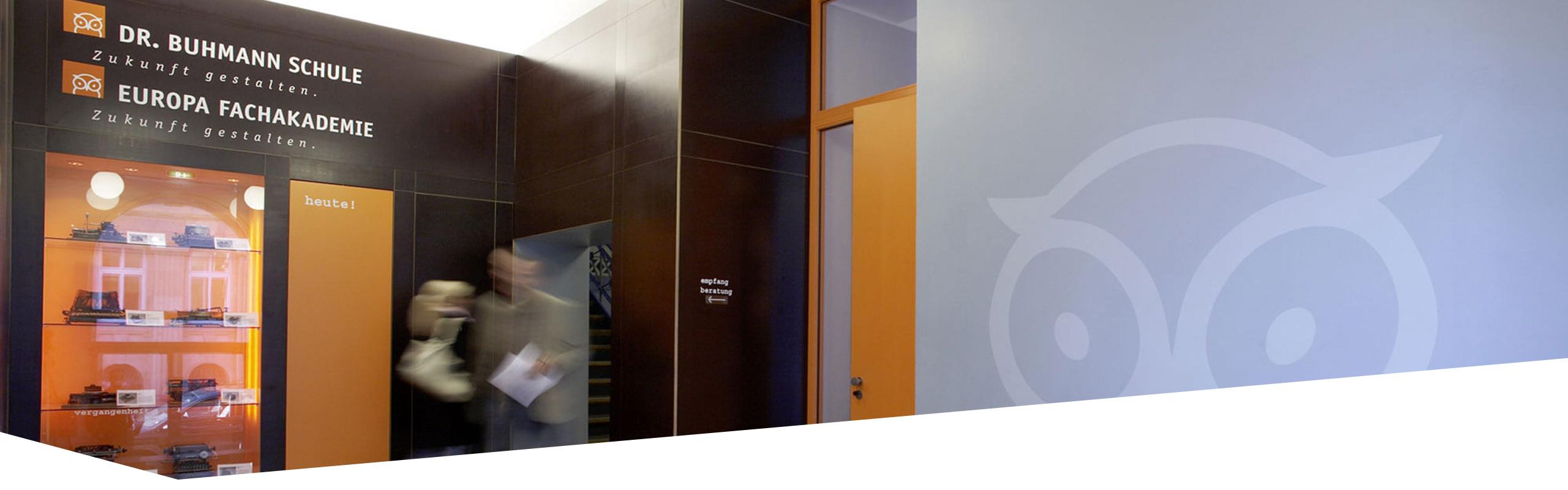 Eingangsbereich der Dr. Buhmann Schule