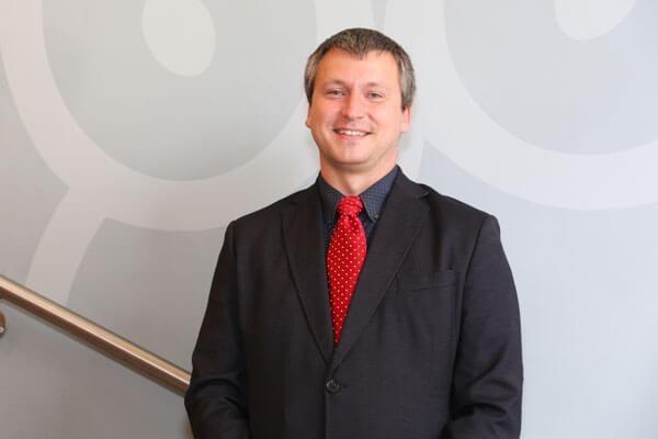 Porträtfoto von Dr. Martin Heine, stellvertretender Schulleiter