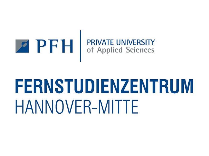 Logo des PFH-Fernstudienzentrums Hannover-Mitte der PFH Private Hochschule Göttingen