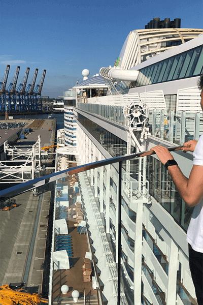 Sport- und Eventmanager auf Kreuzfahrt nach Norwegen