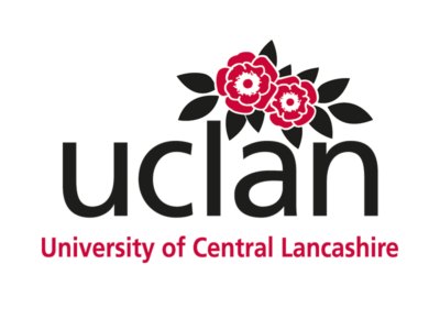 Logo der uclan University of Central Lancashire