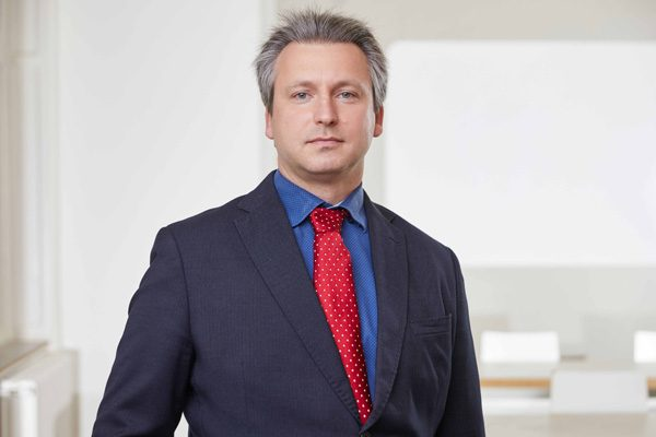 Porträtaufnahme von Dr. Martin Heine